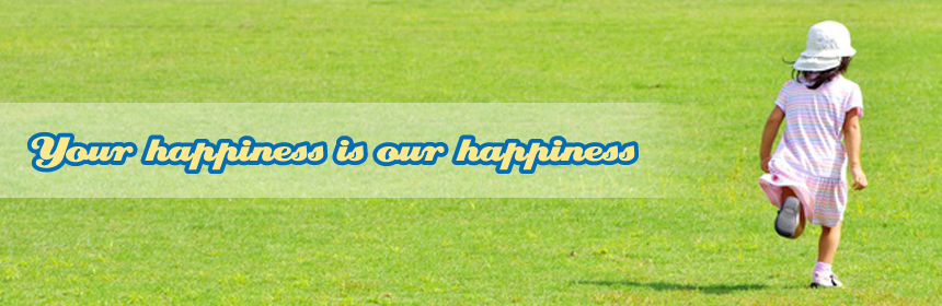 Your Happiness is our happiness